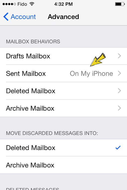 easymail iphone setup