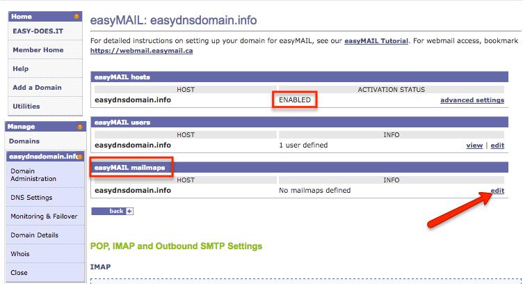 easymail mailmaps