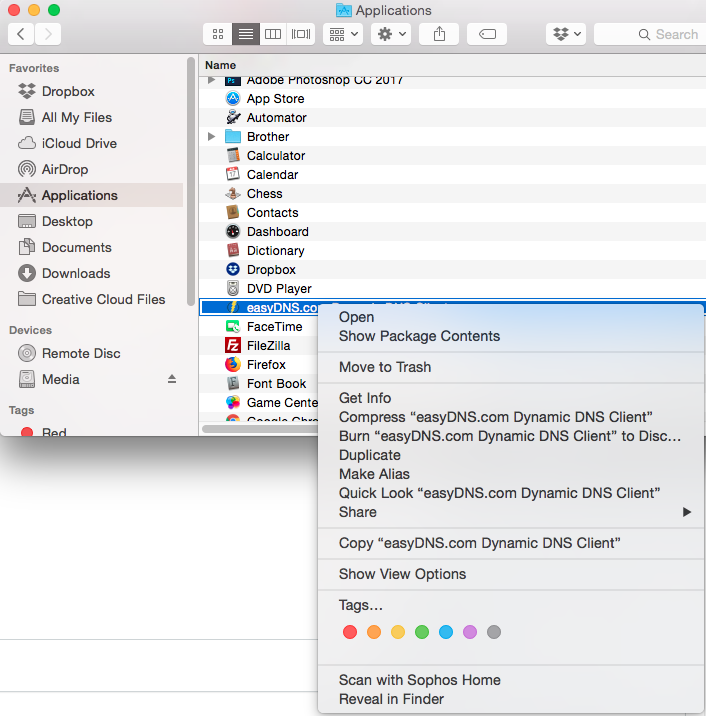 easyDNS Mac OSX Dynamic DNS Client For ZoneEdit - Powered by
